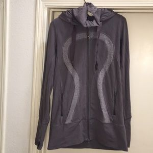 Lululemon Purple Stride Jacket Hoodie size 8